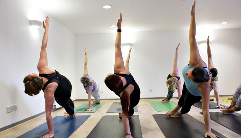Core Strength yoga classes at The Yoga Spot