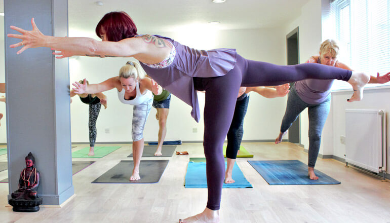 Power Vinyasa yoga classes at The Yoga Spot