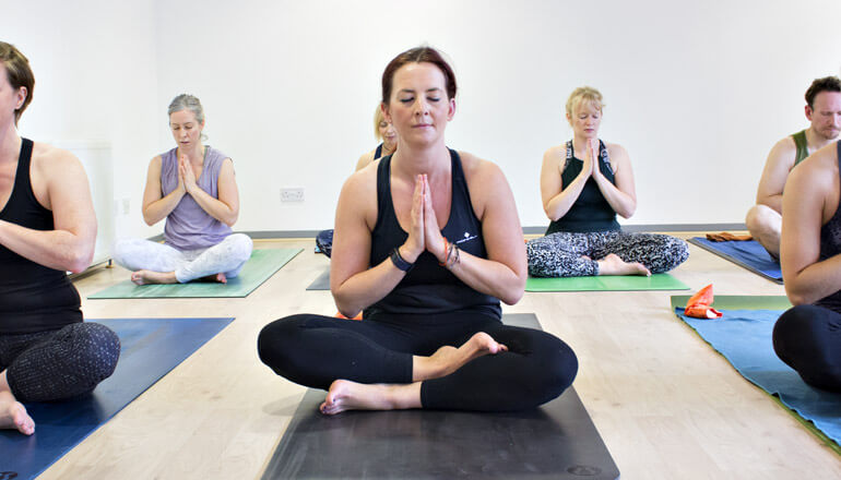 Yin and Meditation classes at The Yoga Spot